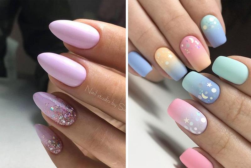 Najlepsze pomysły na pastelowe paznokcie 2020