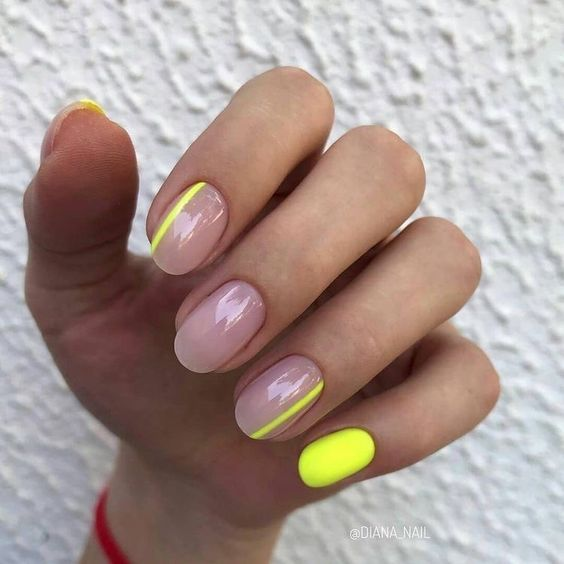 Naturalny manicure na lato