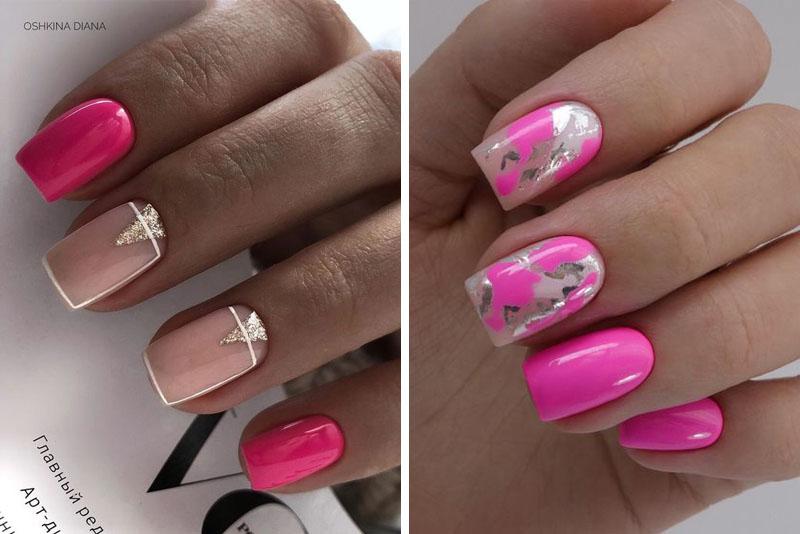 Pomysły na różowe paznokcie – TOP 14 inspiracji